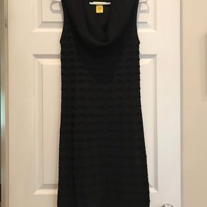 Catherine Malandrino sleeveless cowl neck dress